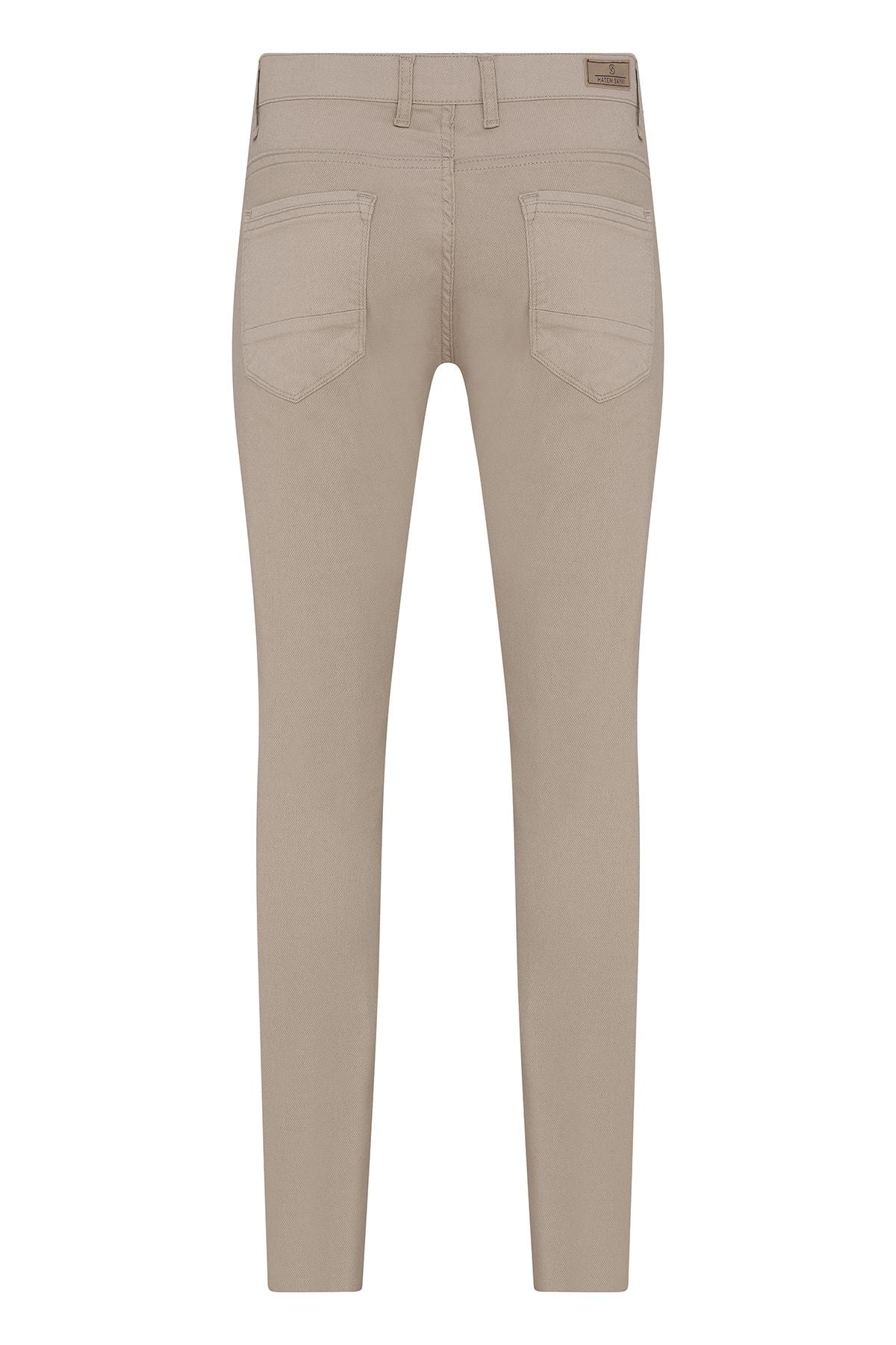 Hatemoğlu Erkek Bej Slim Fit Spor Pantolon 2