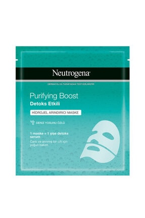 Neutrogena Purifying Boost Hidrojel Maske 30ml