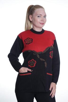 Sude Kadın Siyah Triko Kazak 35
