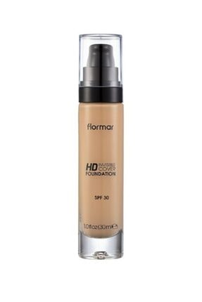 Flormar Invisible Hd Cover Foundation Ivory Fondöten 060