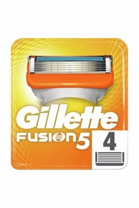 Gillette Fusıon5 Yedek Tıraş Bıçağı 4'lü