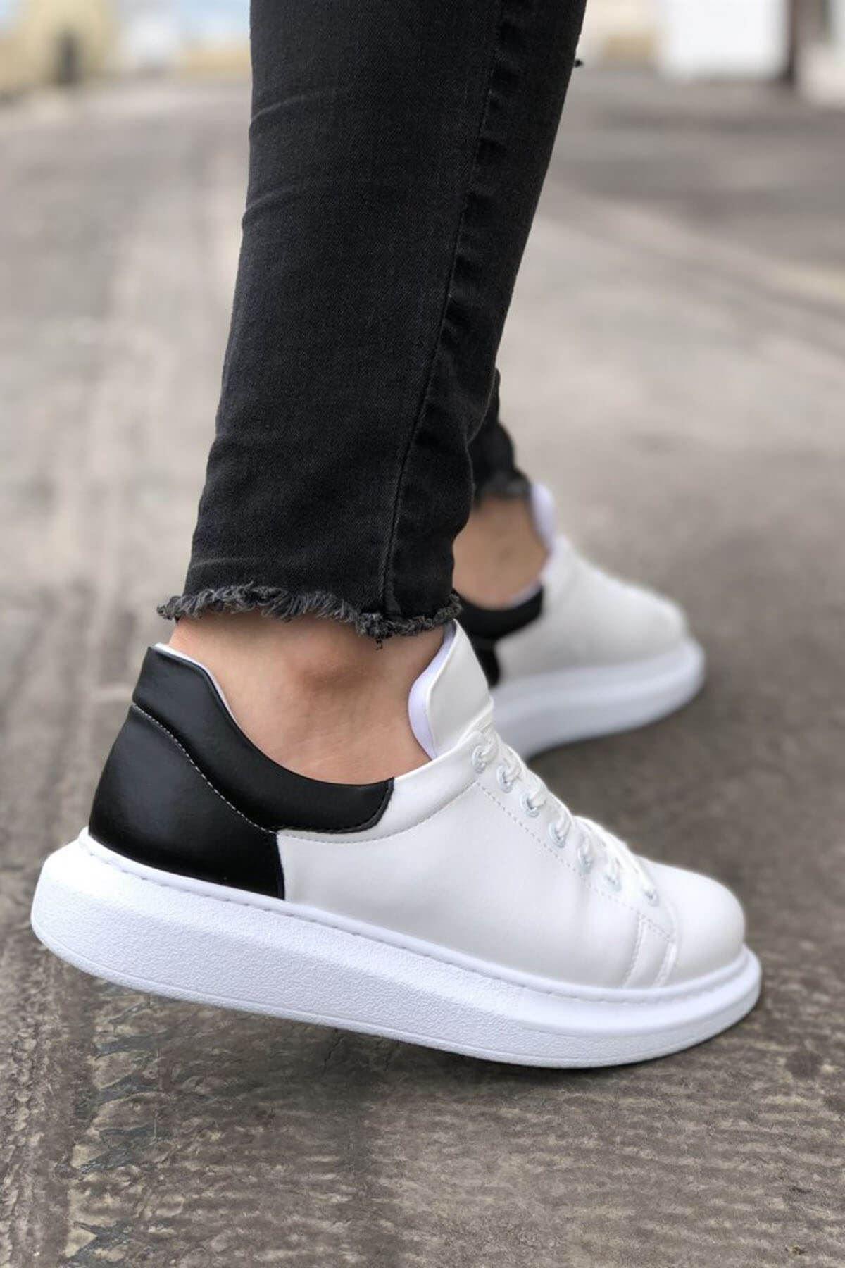 Mida Shoes Beyaz Siyah Mida Sneakers 2