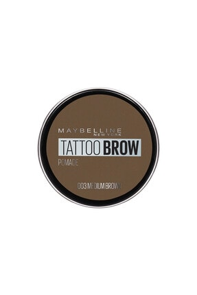 Maybelline New York Kaş Pomadı - New York Tattoo Brow No:03 Medium Brown 3600531516734