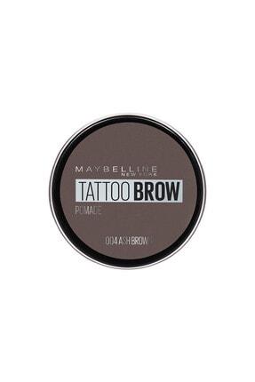 Maybelline New York Kaş Pomadı - New York Tattoo Brow No:04 Ash Brown 3600531516741