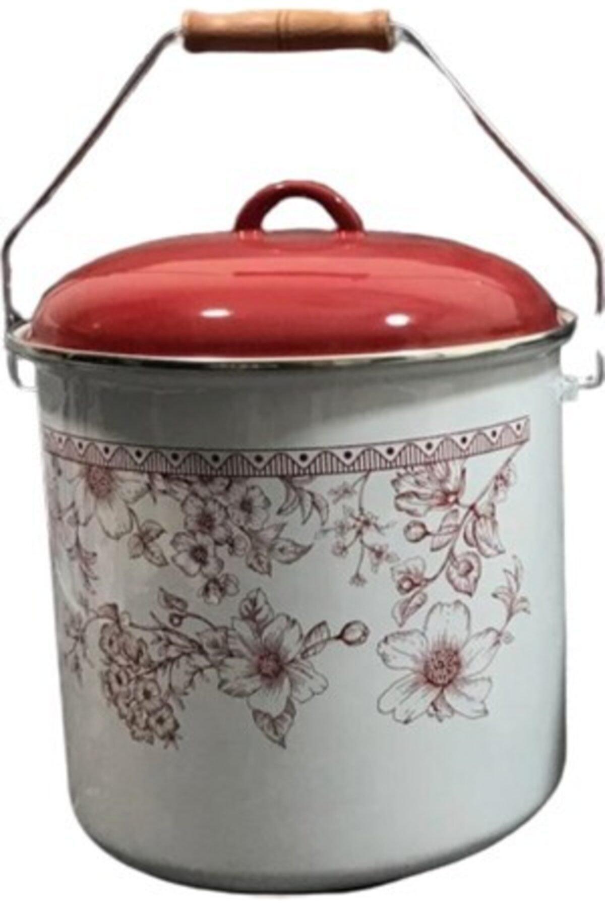 Cooker Kırmızı Emaye Bakraç 20 cm 1