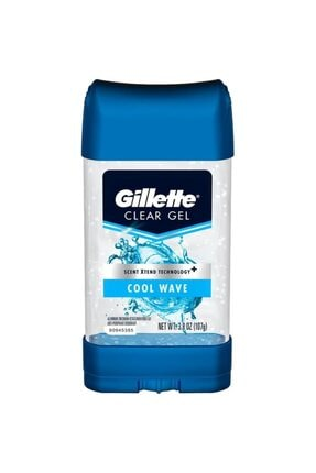 Gillette Cool Wave Antiperspirant Deodorant Jel 107gr