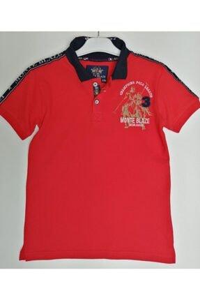 NK Erkek Kırmızı Polo Yaka Lacost Tshirt Pl3011