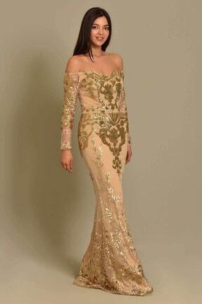 Modakapimda Vizon Tasarım Abiye Elbise