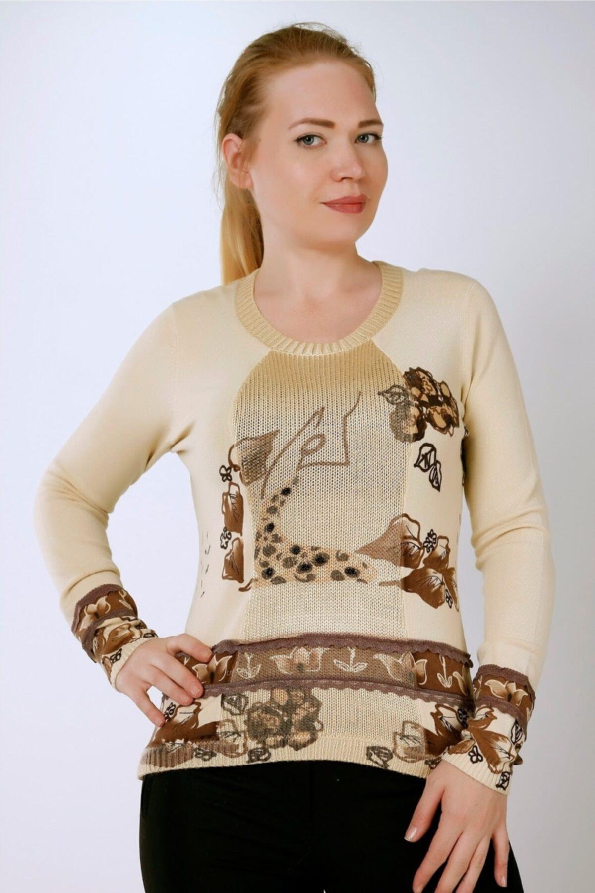 Sude Kadın Triko Bluz 1