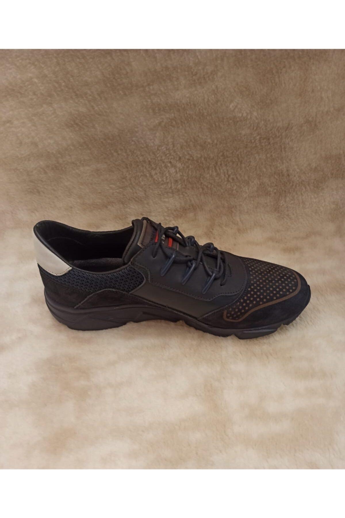 KOMCERO Erkek Lacivert Spor Ayakkabı 1