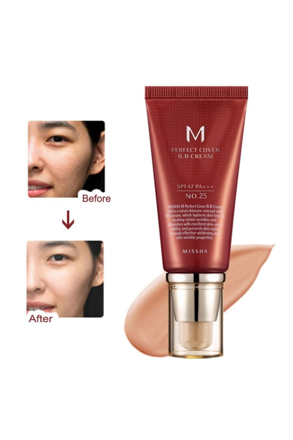 Missha Mıssha M Perfect Cover Bb Cream No: 25 1