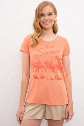 U.S. Polo Assn. Kadın T-Shirt G082SZ011.000.970986