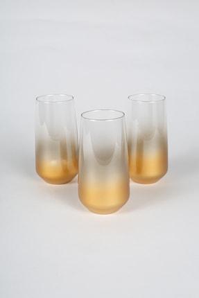 Rakle Glow 3'lü Meşrubat Bardağı Seti 470 cc