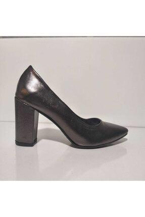 Birol Ayakkabı Platin Topuklu Ayakkabı