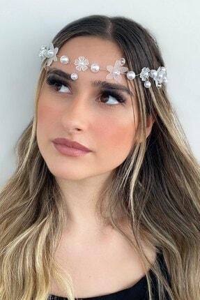 TAKIŞTIR Çiçek Figürlü Inci Detaylı Saç Aksesuarı