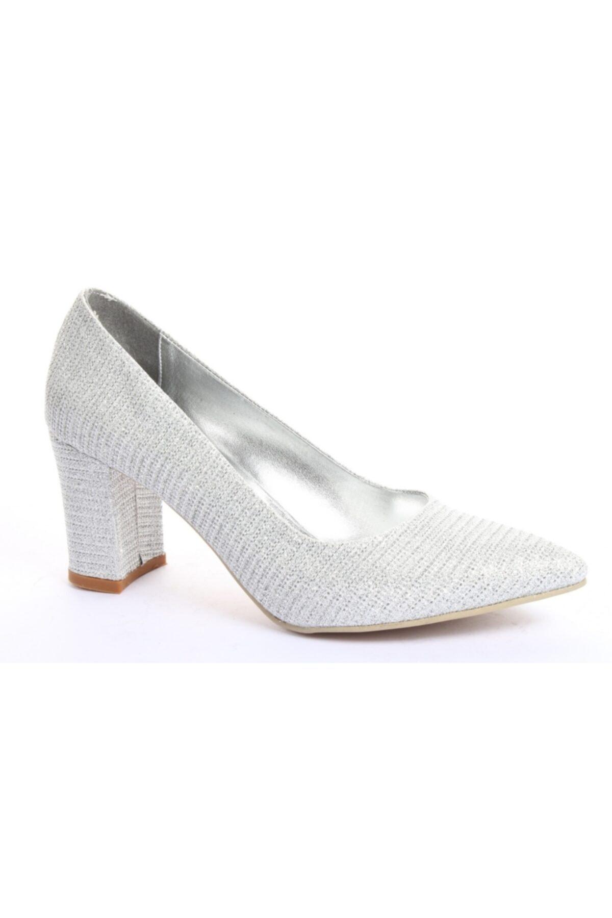 Almera 201-11p Kadın Topuklu Ayakkabı 1