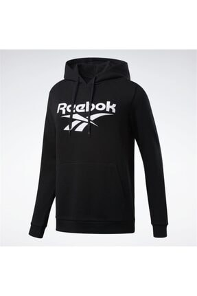 Reebok Kadın Siyah Spor Sweatshirt Vector Hoodıe Fk2772 Cl F