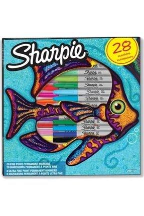 Sharpie Fine + Ultra Fine Marker Kalem Seti 28'li Kalem