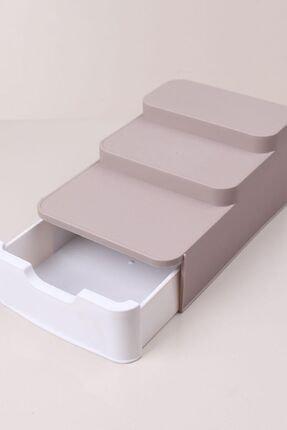 Bi' Home Compact Çekmeceli Organizer Pudra
