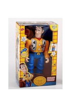 SUDEN Dc Toy Story Woody Şerif Yürüyen Sesli Kolları Hareketli Oyuncak Figür