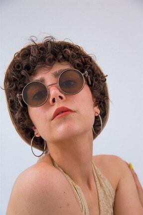 Bilge Karga Kadın Kahverengi Güneş Gözlüğü