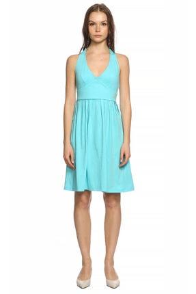 Manoush Kadın Mavi Elbise