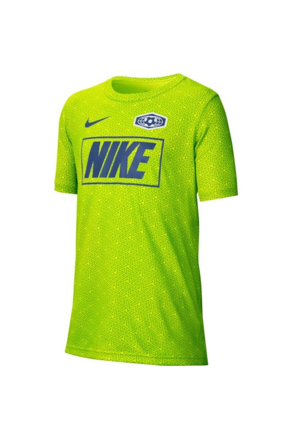 Nike Kids Unisex Çocuk Yeşil Tişört 1