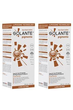 Solante Pigmenta Koyu Lekelere Karşı Güneş Losyonu Spf50 2 X 150 ml 7777777176777