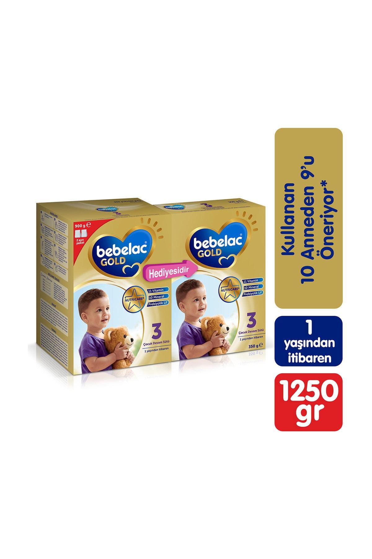 Bebelac Devam Sütü 3 Numara 1250 gr - 900 gr + 350 gr 1