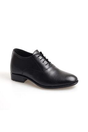AYAK-KABI Erkek Siyah  Mat  Ayakkabı