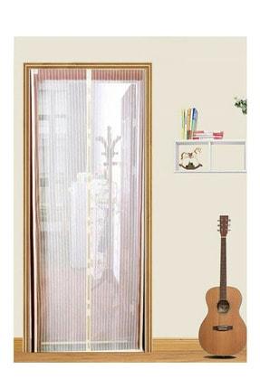 sonavm Mıknatıslı Kapı Sinekliği Sineklik Tülü Perde Sinek Kovucu Beyaz ( 105x205cm )