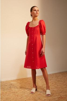 Mudo Kadın Nar Çiçeği Elbise 379648