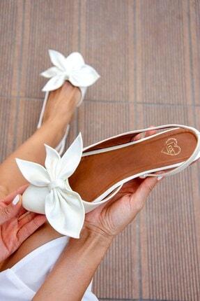 Fox Shoes Bej Kadın Babet H726809004