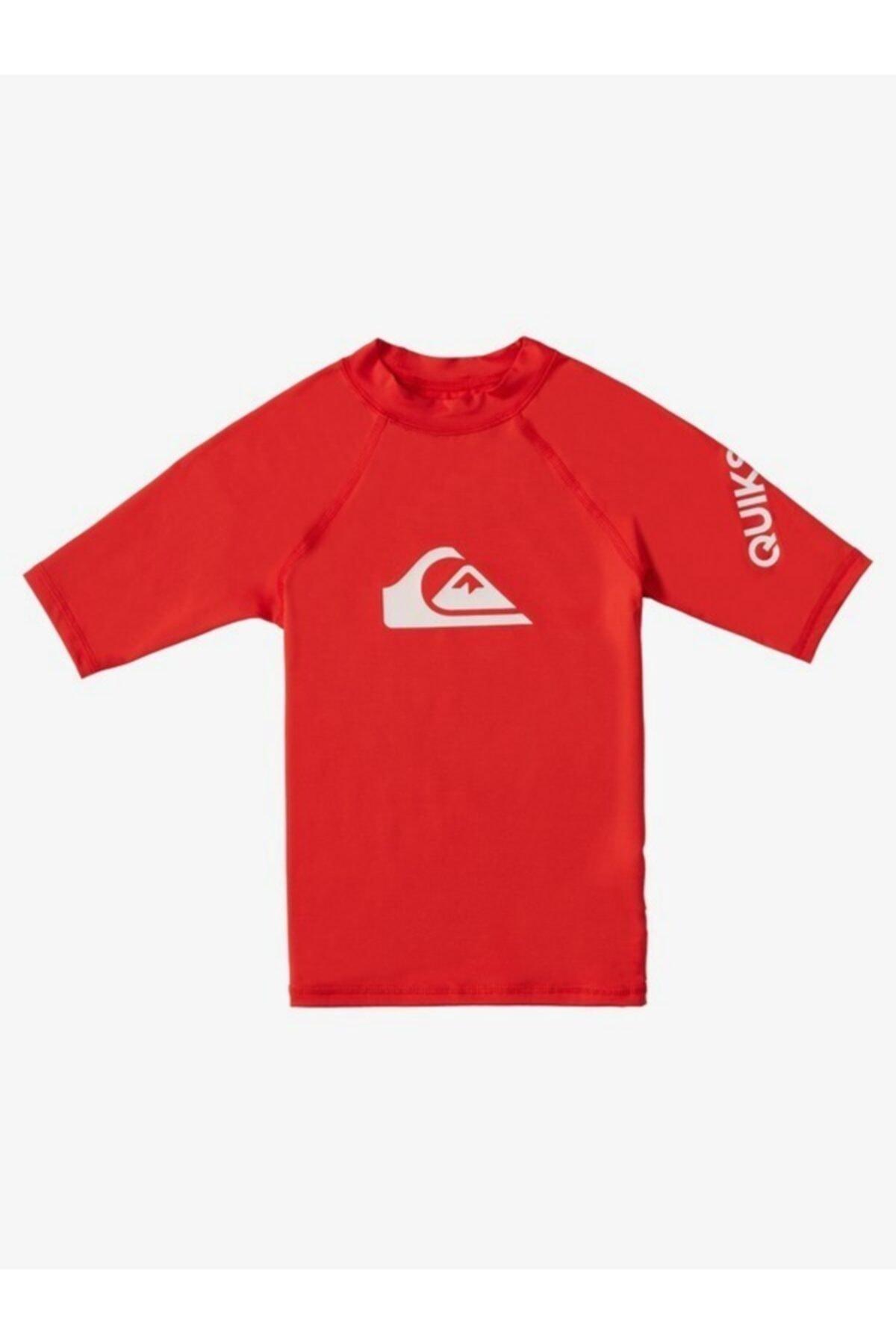 Quiksilver Eqkwr03077-rqc0 Alltimssboy K Sfsh Çocuk Yüzücü T-shirt 1
