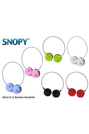 SNOOPY Snopy Kulaküstü Kulaklık Sn-613
