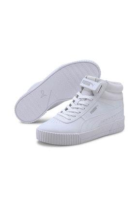 Puma Carina Mid-37323301-beyaz-kadın Spor Ayakkabı-