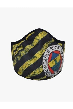 Fenerbahçe Fb Bayrak Logo Maske