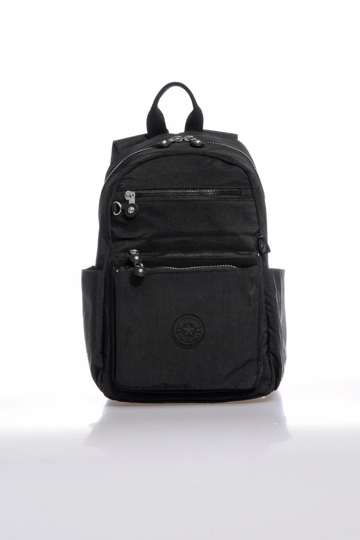 SMART BAGS Smb3068-0001 Siyah Kadın Sırt Çantası 1