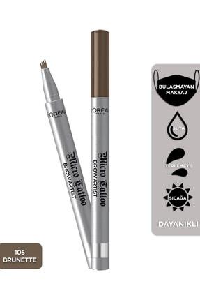 L'Oreal Paris Kaş Kalemi - Brow Artist Micro Tattoo 105 Brunette 3600523527175