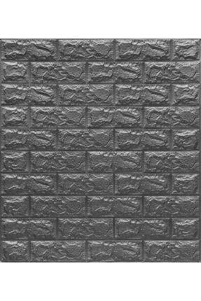 Renkli Duvarlar Koyu Gri 3d Kendinden Yapışkanlı Duvar Kağıdı Duvar Paneli