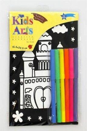 Cem Kids Arts Kadife Boyama Seti Vp-1503a