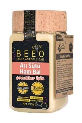 BEE'O Arı Sütü + Ham Bal (çocuk) 190 G