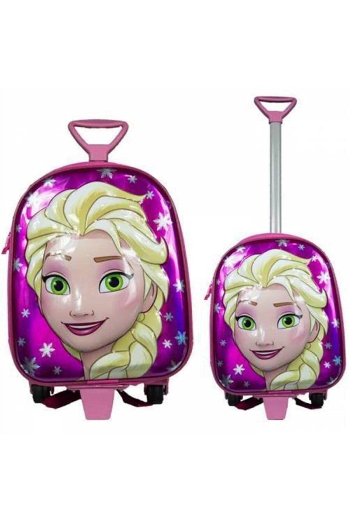 Adalinhome Çocuk Çekçekli Okul Çantası Elsa 1