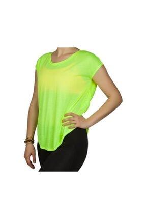 Exuma Kadın Yeşil Spor T-shirt 362203