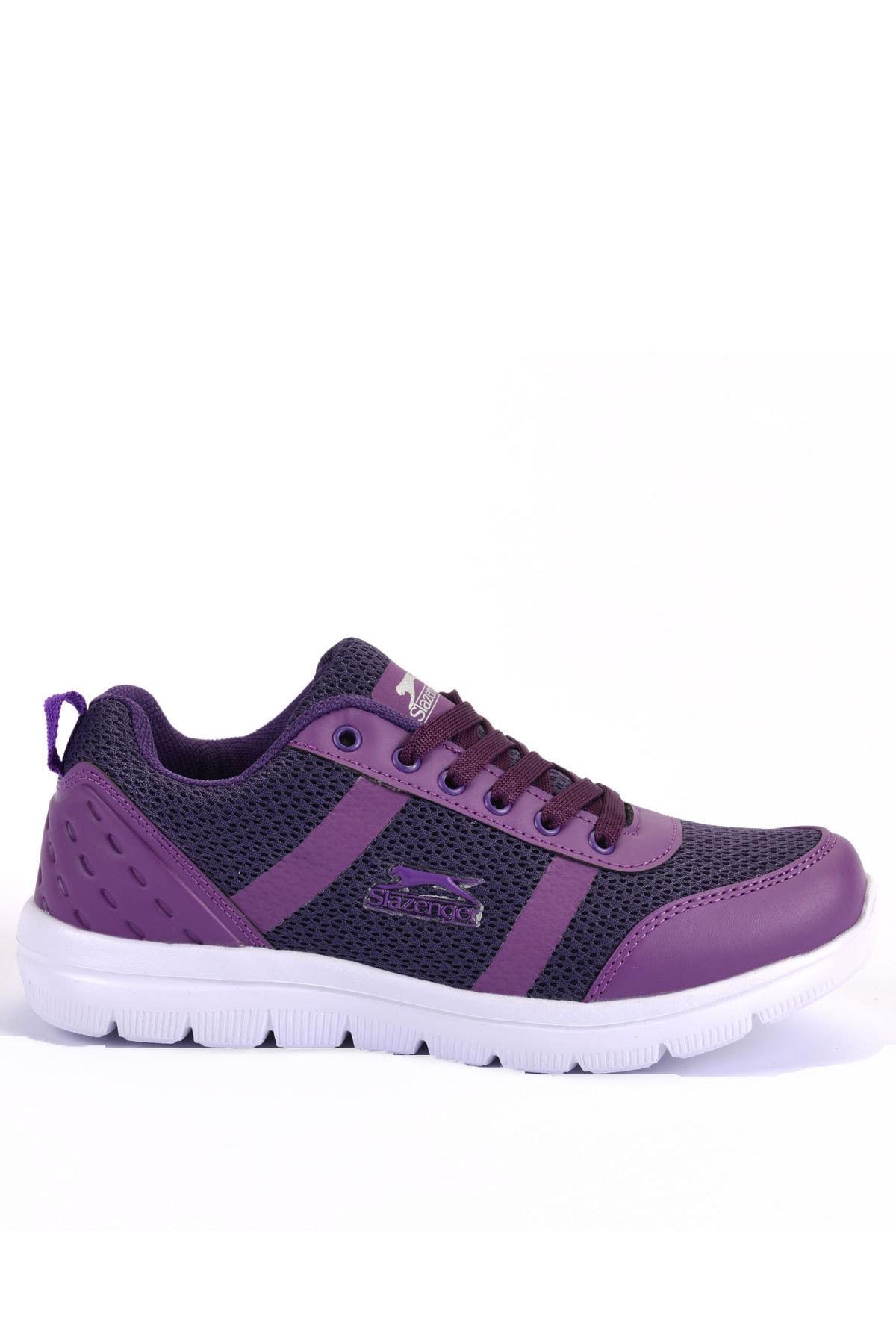 Slazenger Twenty Koşu & Yürüyüş Kadın Ayakkabı Mor 1