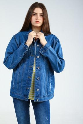 Collezione Mavi Boyfriend Kadın Kot Ceket