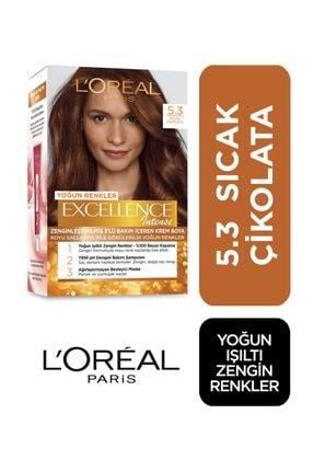 L'Oreal Paris Saç Boyası - Excellence Intense 5.3 Sıcak Çikolata 3600522822301