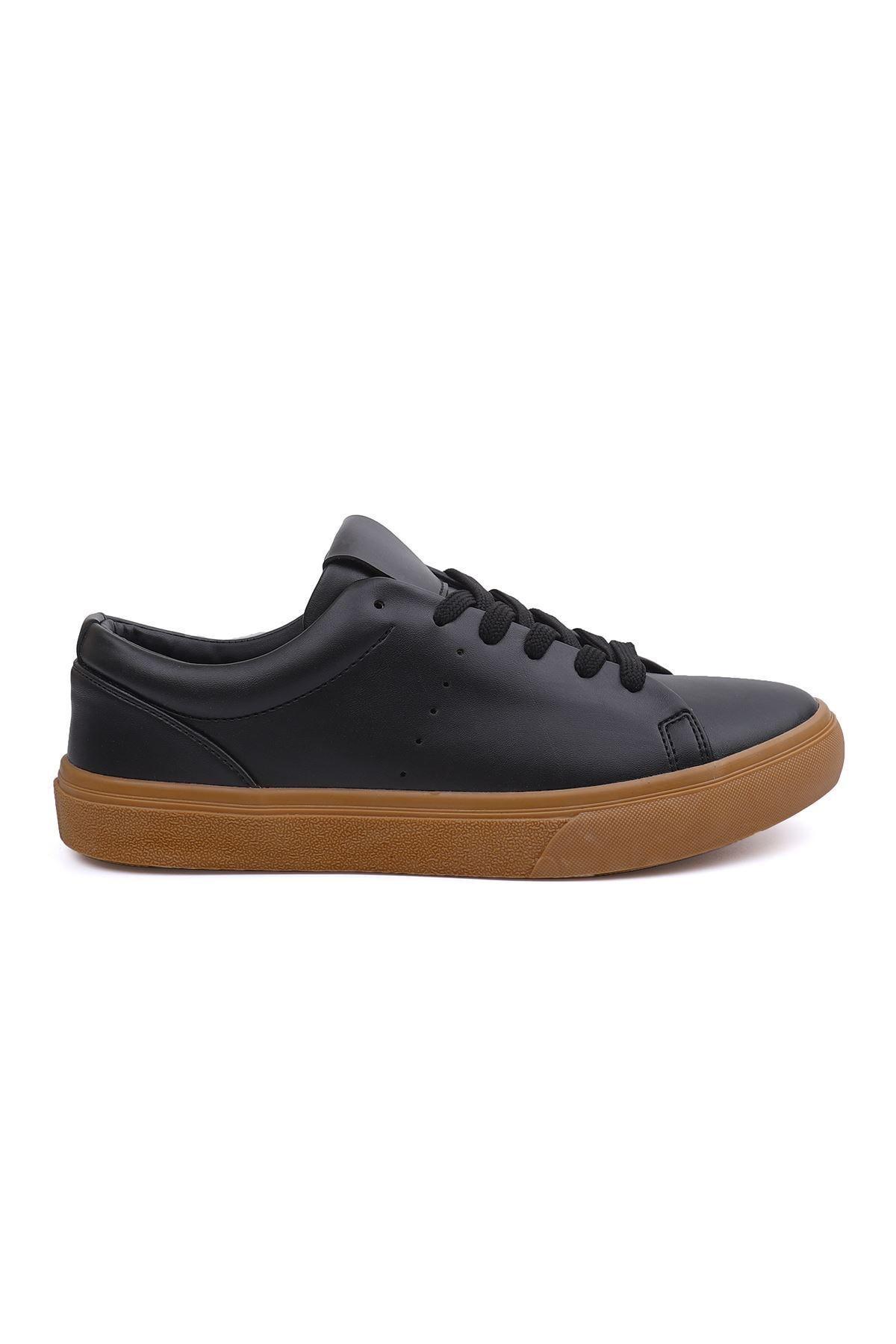 LETOON 3537 Erkek Siyah Spor Ayakkabı 2