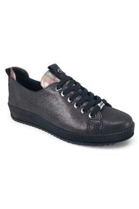 Mammamia Kadın Siyah Çelik Günlük Ayakkabı 3420