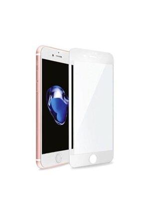 Bufalo iPhone 6 Plus 6s Plus Beyaz Kavisli 5D Cam Ekran Koruyucu